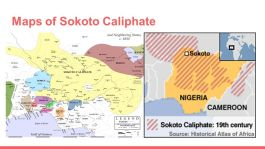 Maps of Sokoto Caliphate
