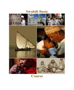 Swahili Basic Course